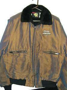Mens Large King Louie Pro Fit Coors Extra Gold Draft Coat/Jacket