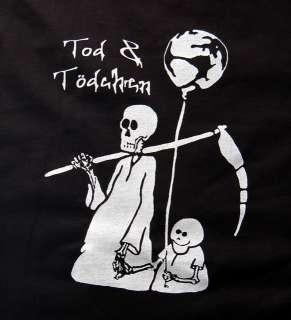 KULT Tod & TÖDCHEN Shirt TOP Rockabilly Batcave Emo