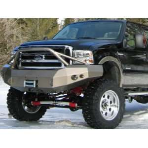 Winch Bumper Front With No Grill Guard 2005 2007 Super Duty F250 F350