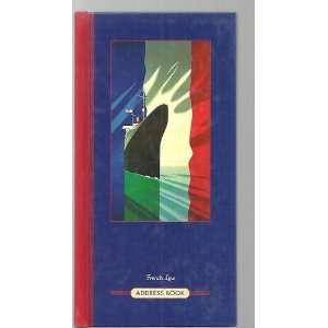 French Line Address Book (9780517594223) Ebury Press Books