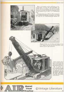 Bucyrus Erie Shovel & Crane {3} Catalogs on CD