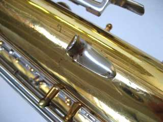 Selmer Signet USA baritone saxophone, model number 156, LOW A