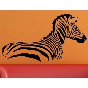 Vinyl Wall Decal Sticker Zebra Body Wall Decor Vinyl Art