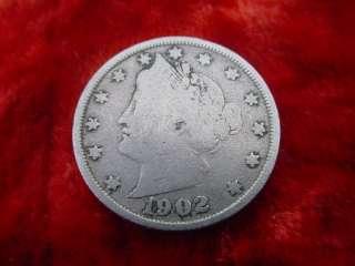 Cent 1902 USA Münzen V Coin US States America 226