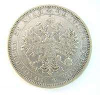ANTIQUE SILVER COIN 1877 RUSSIA 1 ROUBLE RUBLE EMPIRE