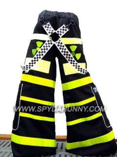 Toxic Gas Mask PHAT PANTS w/ FREE Plain Suspenders Custom Fit
