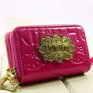 SANRIO HELLO KITTY WALLET KT KEY HOLDER BAG PURSE P42 H