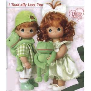I Toadlly Love You 12 inch boy or girl Precious Moments