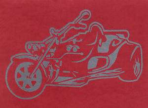 Aufkleber Trike fürs Auto 9 Rewaco RF1 (DU)