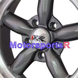 16 16x8 XXR 512 Gun Metal Rims Wheels Deep Dish 5 lugs 65 66 67 Ford