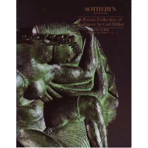 Private Collection of Sculpture By Carl Milles (Sale 6248): Books