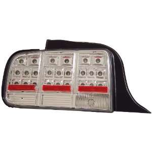 Anzo USA 321019 Ford Mustang Chrome LED Tail Light Assembly   (Sold in