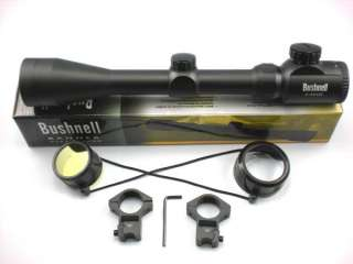 Bushnell 3 9x42E Tactical Rifle Scope Optical Sniper Gunsight + Two