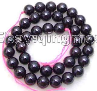 12mm Round AAA high quality garnet gemstone Beads l132