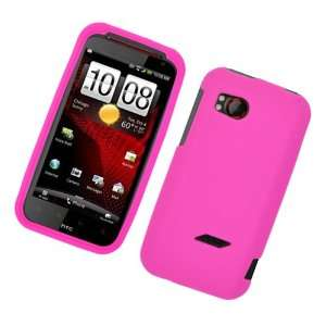 Solid Hot Pink Silicone Skin Gel Cover Case For HTC