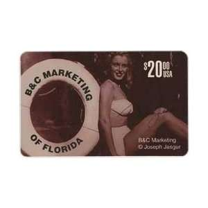 Marilyn Collectible Phone Card $20. Norma Jean (Marilyn