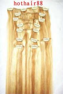 Popular Color10pcs22120g Human Hair Clip In Extension