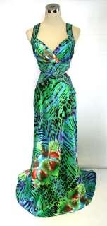 NWT HAILEY LOGAN $170 Green Juniors Wedding Prom Gown 7