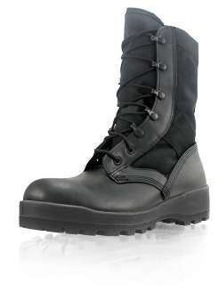 Wellco Black Jungle Boot V Track Slightly Blemished Sizes