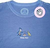 LIFE IS GOOD Womens (L/XL) Crusher Tee/T Shirt JACKIE HAPPY HOUR