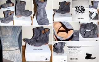 NEW SS 2012  ISABEL MARANT JENNY SLOUCHY BOOTS SIZE 41