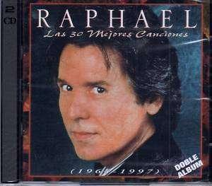 RAPHAEL LAS 30 MEJORES CANCIONES 1964 97 2CDS SET