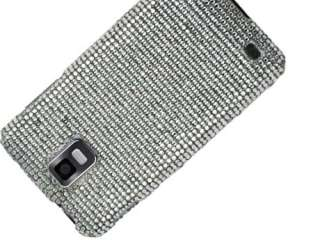 SILVER BLING DIAMOND CASE COVER SAMSUNG INFUSE i997