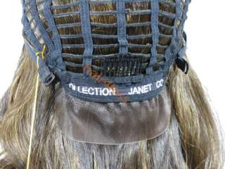 Janet Human Encore Hair Full Lace Curly Wig HW WENDY