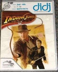 didj Indiana Jones for Grades: 2nd   4th subject: Math Facts