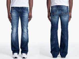 Diesel Jeans Mens Zathan 8B9 Bootleg New With Tag