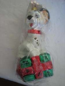 Original LUCKY Dog Dalmation Animal Pet Christmas Ornament 1996 NEW