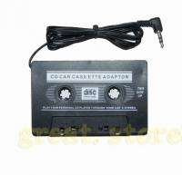 Car Cassette Tape Adapter For  CD Player iPhone iPod
