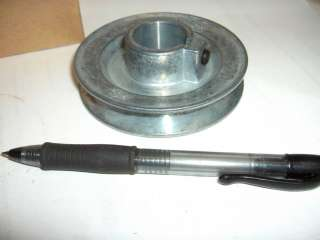 Belt Pulley NEW Zinc Die Cast 3 1/2 Bore Sizes 1/2 5/8 3/4