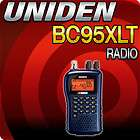 Uniden BC 95XLT NASCAR Bearcat 200 Channel Portable Scanner
