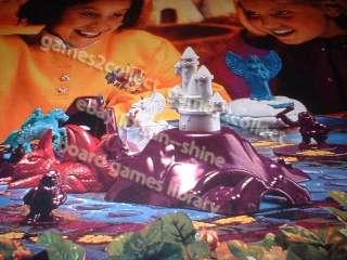 White unicorn board game 1995 by RoseArt   Princess treasures fantasy