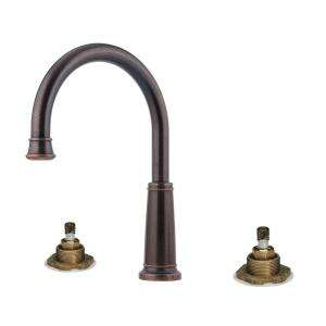 Pfister Ashfield Roman Tub Faucet Less Handles in Rustic Bronze