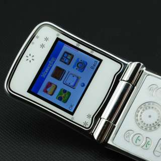 Fashion Quad band Dual sim T Mobile Flip TV Cell Phone AT T GSM mobile
