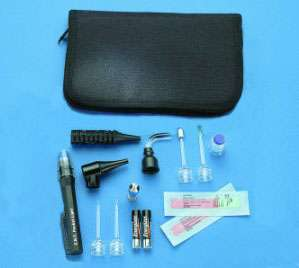 NEW CFM Basic ENT Field Kit Pocket Light & Eye Care Set