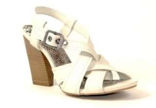 Gianni Bini Alba Womens Shoes Sandals Ivory 10