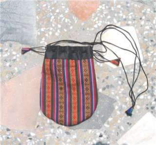 wear cotton Coin Purse TIBETAN MALA BAG NEPAL