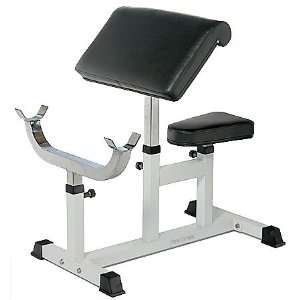 POWER EXTREME Arm Curl Bank  Sport & Freizeit