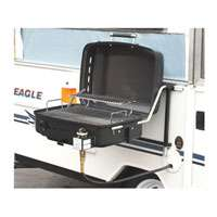 RV Mounted BBQ Motorhome Gas Grill BBQ Trailer Side Mount Barbeque