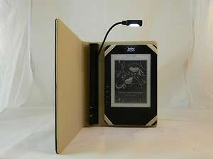 New Custom Kobo Wireless eReader Case Cover W/ Built in Light e book