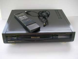 PANASONIC OMNIVISION VHS VCR RECORDER PLAYER Hi Tech 4 Hi Fi with