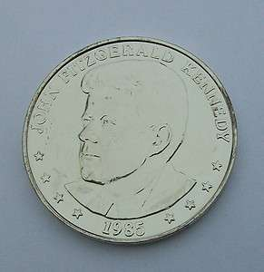 1985 JOHN KENNEDY DOUBLE EAGLE 25th COMMEMORATIVE COIN