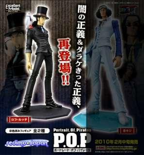 ONE PIECE P.O.P Rob Lucci 1/8 PVC Statue Anime Manga Figur MEGAHOUSE