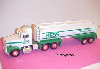 1990 HESS GASOLINE TRACTOR TRAILER TANKER