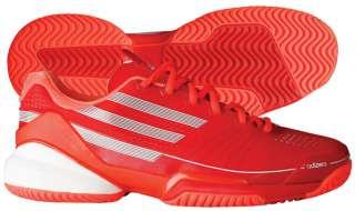 Adidas Adizero Feather Mens Tennis Shoe Red/White