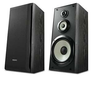 Sony SS B3000 Bookshelf Speakers   8 Inch Woofer, 120 Watts Maximum
