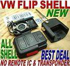 NEW VW SWITCHBLADE KEYLESS KEY REMOTE FOB CASE SHELL ONLY,BRAND NEW